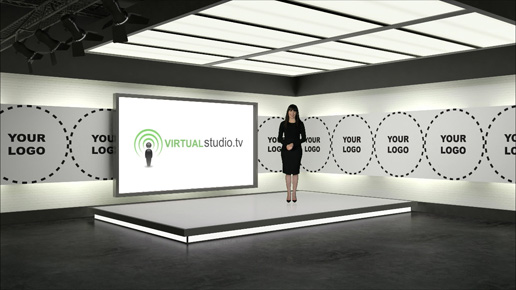 Bring your brand and broadcasts to life with a tailor-made virtual set